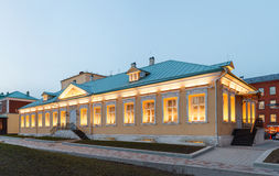 Luxury office building. Building in classical palladio style Stock Images