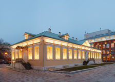 Luxury office building. Building in classical palladio style Royalty Free Stock Image