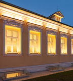 Luxury office building. Building in classical palladio style Stock Photo