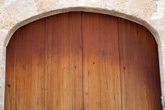 Luxury old wooden door Royalty Free Stock Photos