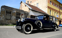 Luxury  oldtimer Rolls Royce Phanton Royalty Free Stock Images