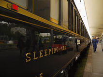 Luxury Orient Express Train, Iconic Train Royalty Free Stock Photography
