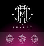 Luxury Oriental Logo Stock Photos