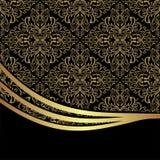 Luxury ornamental Background decorated the elegant Border Stock Image