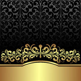 Luxury ornamental Background with Vintage ornament. Royalty Free Stock Images
