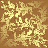 Luxury ornamental golden Background. Stock Photography
