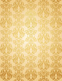 Luxury ornamental pattern. Luxury gold glamour ornamental pattern Stock Photography
