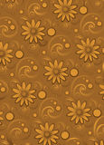 Luxury ornamental pattern. Luxury gold glamour ornamental pattern Royalty Free Stock Photos