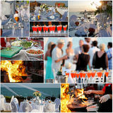 Luxury Outdoor Reception Royalty Free Stock Photos