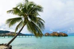 Luxury overwater villas Royalty Free Stock Photos