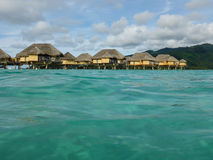 Luxury overwater villas Royalty Free Stock Photography