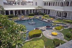 Luxury Palace Courtyard stock photos