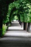 Luxury park gardens Stock Photo