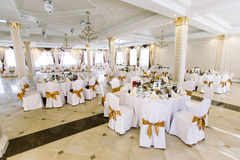 Luxury party hall Stock Images