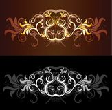 Luxury pattern Royalty Free Stock Photos