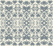 Luxury pattern with floral ornament for your creative design.  Royalty Free Stock Image