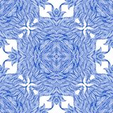 Luxury pattern with thin elegant lines. Royalty Free Stock Photography