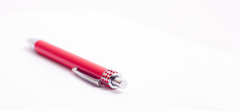 Luxury pen. Royalty Free Stock Photos