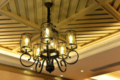 Luxury pendent lighting Royalty Free Stock Photography