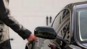 Luxury performance car stock video footage