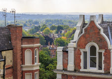 Luxury period homes with a view Stock Image