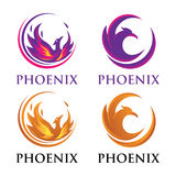 Luxury Phoenix Logo royalty free stock photography