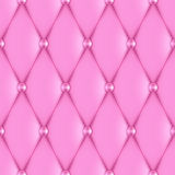 Luxury pink leather Stock Image