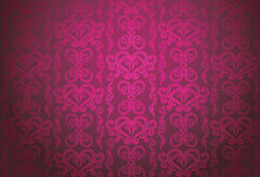 Luxury pink ornamental pattern Stock Photos