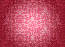 Luxury pink ornamental pattern Stock Photography