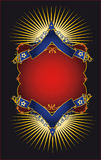 Luxury placard Royalty Free Stock Image