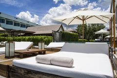 Luxury place resort and spa. For vacations Stock Images
