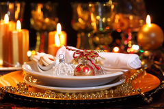 Luxury place setting Royalty Free Stock Photography
