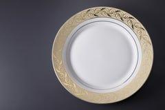 Luxury plate Stock Photo