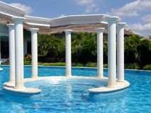 Luxury pool Royalty Free Stock Image