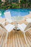 Luxury pool Royalty Free Stock Photo