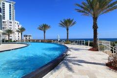 Luxury Pool Royalty Free Stock Photography