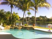 Luxury pool Stock Photo