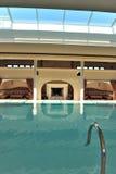 luxury pool spa Στοκ εικόνα με δικαίωμα ελεύθερης χρήσης