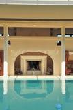 luxury pool spa Στοκ Φωτογραφία