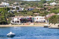 Porto Rafael, Sardegna, Italy. Luxury Porto Rafael in Palau, Sardegna, Italy stock photography