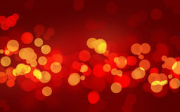 Luxury powerful red glowing Bokeh background. For celebration Stock Image