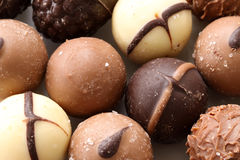 Luxury Pralines Royalty Free Stock Photo