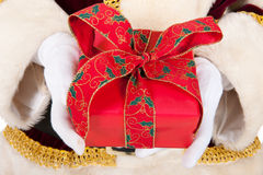 Luxury present from Santa Claus Royalty Free Stock Photo