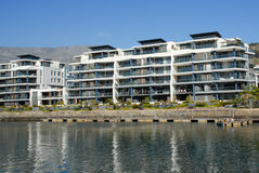 Luxury Property. Luxury waterfront property in Cape Town Royalty Free Stock Photo