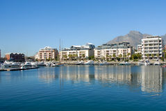Luxury property. Luxury waterfront property in Cape Town Royalty Free Stock Photos