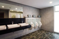Luxury public restroom Royalty Free Stock Image