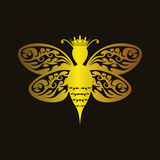 Luxury Queen Bee Royalty Free Stock Photos