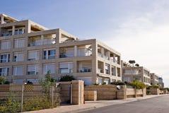 Luxury real estate. Modern multy flat buildings Royalty Free Stock Photo