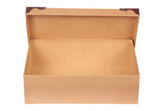 Luxury recycle cardboard paper box isolated Royalty Free Stock Photo