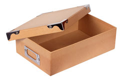 Luxury recycle cardboard paper box isolated Royalty Free Stock Photography